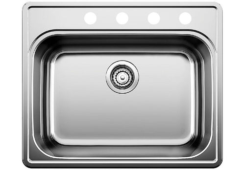 BLANCO ESSENTIAL 1 (4 Hole) Stainless Steel sink