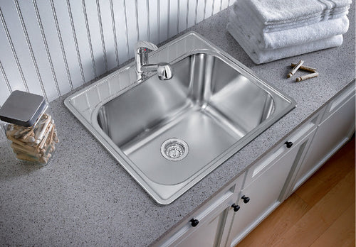 BLANCO ESSENTIAL UTILITY SINK (1 Hole) Stainless Steel sink