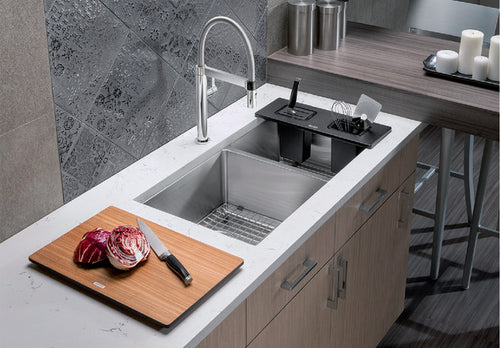 BLANCO QUATRUS R15 U 1 3/4 Stainless Steel sink