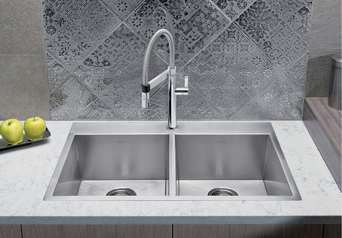 BLANCO QUATRUS DROP IN 2.0 (1 HOLE) Stainless Steel sink
