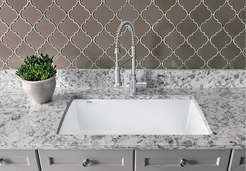 BLANCO DIAMOND U SUPER SINGLE Granite composite sink in  SILGRANIT®