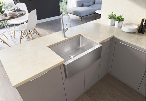 BLANCO QUATRUS R15 U 1 MEDIUM APRON Stainless Steel sink