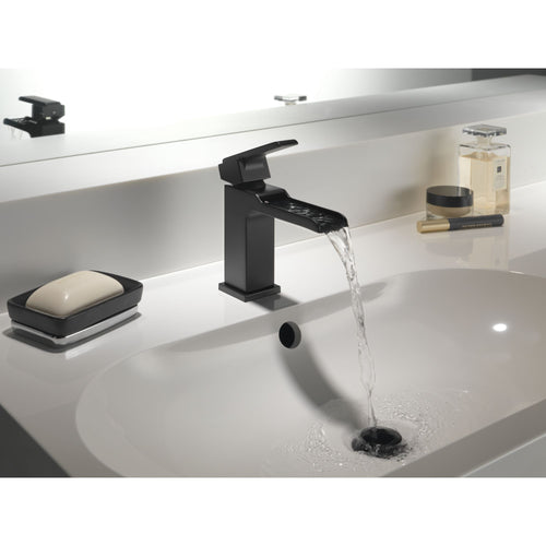 Delta Ara Single Hole Channel Faucet