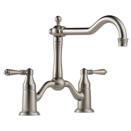 Brizo Tresa® Two Handle Bridge Kitchen Faucet | 62436LF-PC