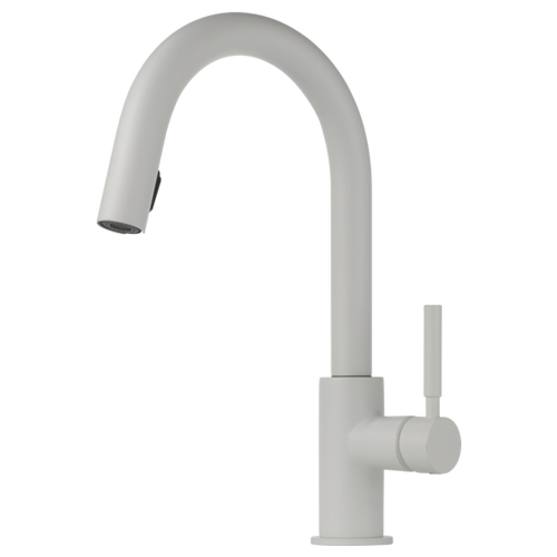 Brizo Solna® Single Handle Pull Down Kitchen Faucet | 63020LF-BL