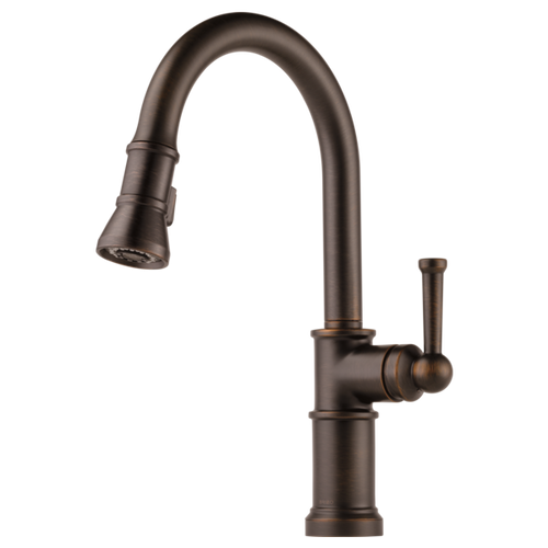 Brizo Artesso® Single Handle Pull Down Kitchen Faucet | 63025LF-GL