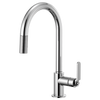 Brizo Litze® Pull Down Arc Spout And Industrial Handle | 63044LF-BLGL