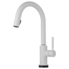 Brizo Solna® Single Handle Single Hole Pull Down Kitchen Faucet | 64020LF-BL