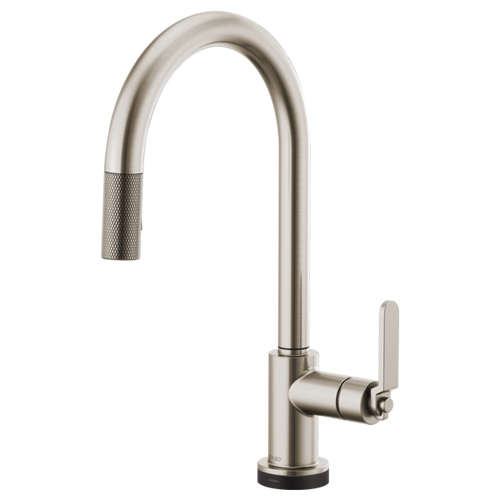 Brizo Litze® Smarttouch® Pull Down Faucet With Arc Spout | 64044LF-BLGL