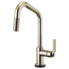 Brizo Litze® Smarttouch® Pull Down Faucet With Angled Spout | 64064LF-BLGL