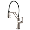Brizo Artesso® Single Handle Articulating Kitchen Faucet | 64225LF-GL
