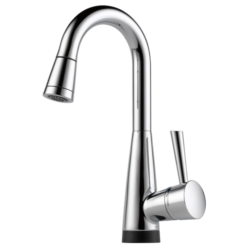 Brizo Venuto® Single Handle Pull-down Prep Faucet With Smarttouch® Technology | 64970LFPC