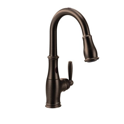 Moen Brantford Chrome One Handle Arc Pulldown Kitchen Faucet | 7185EWC