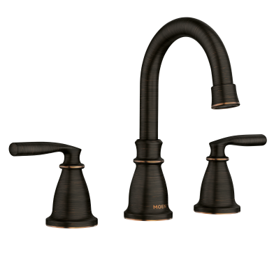 Moen Hilliard Mediterranean Bronze Arc Bathroom Faucet | 84539BRB
