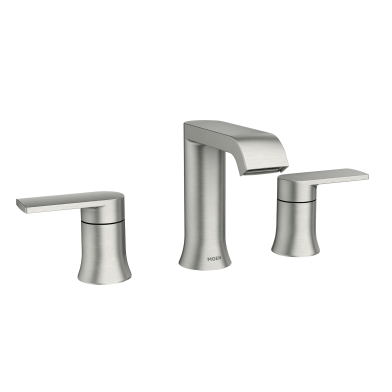 Moen Genta Matte Black Two Handle Bathroom Faucet | 84763BL