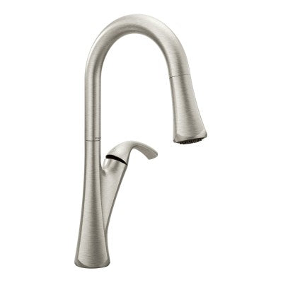 Moen Notch Chrome Pulldown Kitchen Faucet | 9124C