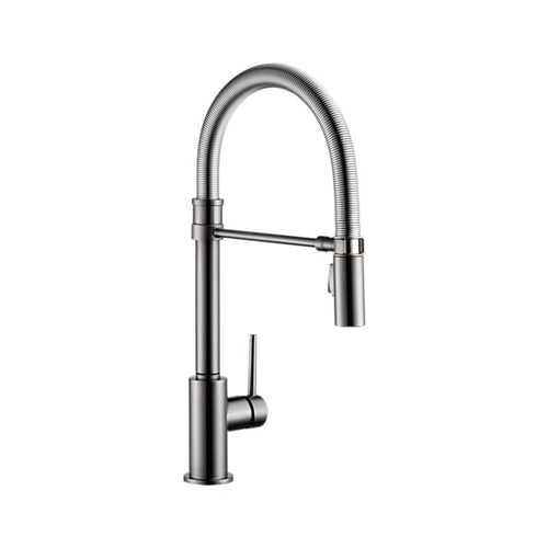 TRINSIC PRO Single Handle Pull-Down Kitchen Faucet With Spring Spout