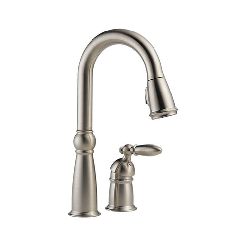 ESQUE Single Handle Pull-Down Bar / Prep Faucet