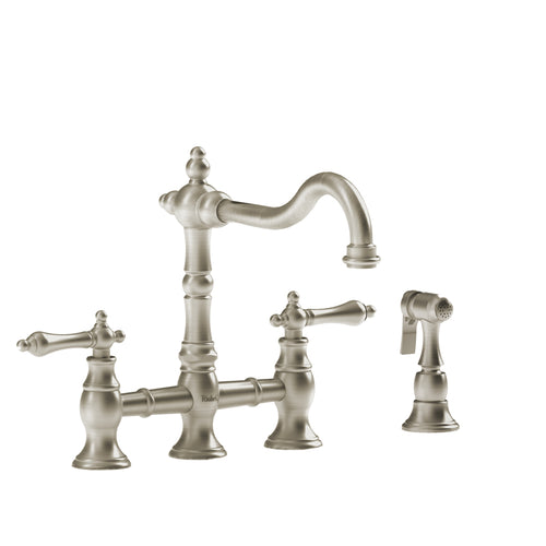 Riobel Bridge Kitchen Faucet With Spray | BR400L