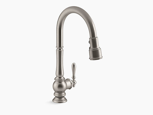 Kohler Artifacts Kitchen Faucet Pull-Down Spout | K-99259-CP