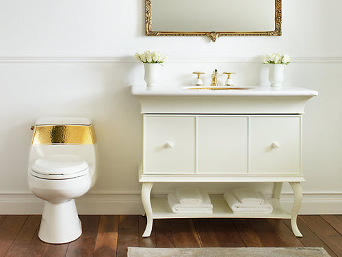 Kohler Laureate™ on Gabrielle™ Comfort Height® One Piece 1.28 gpf Toilet | K-14346-PD-0