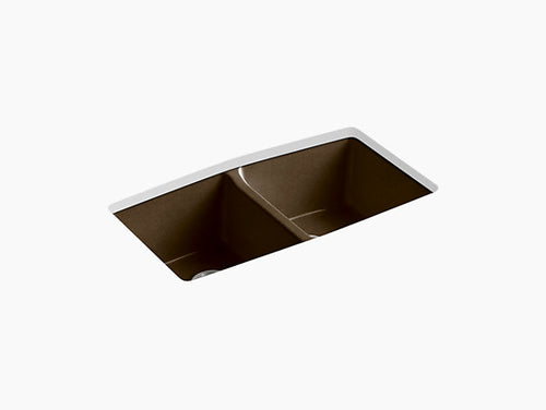 Kohler Brookfield Under-Mount Double Bowl Kitchen Sink | K-5846-5U-0