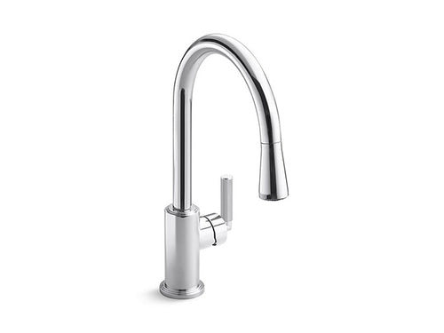 PULL-DOWN KITCHEN FAUCET VIR STIL® by Laura Kirar