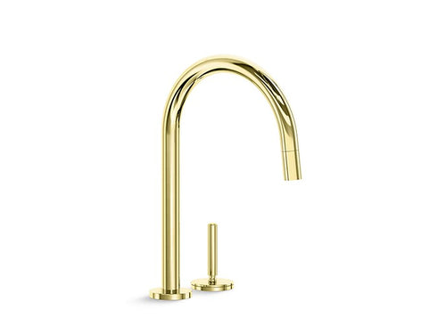 PULL-DOWN KITCHEN FAUCET ONE™ by Kallista
