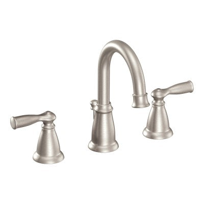Moen Banbury Chrome Two Handle Arc Bathroom Faucet | WS84924