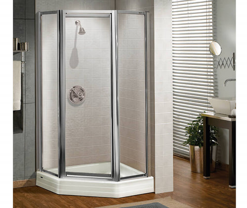 Silhouette Plus Neo-angle Pivot Shower Door 38 x 38-40 x 40 x 70 in.