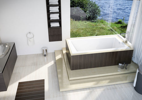 "Mirolin Mella™ 66"" Drop-In Bath 