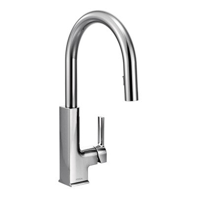 Moen STo Chrome High Arc Kitchen Faucet | S72308