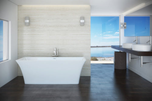 Mirolin Skye™ 66 1/2″ Freestanding Bath | CF1012
