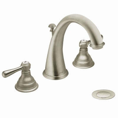Moen Kingsley Polished Brass High Arc Bathroom Faucet | T6125P