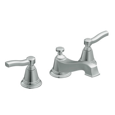 Moen Rothbury Brushed Nickel Low Arc Bathroom Faucet | TS6205BN