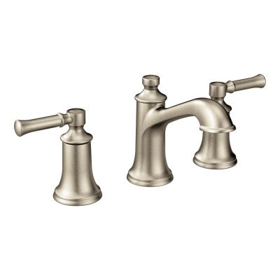 Moen Dartmoor Brushed Nickel Two Handle High Arc Bathroom Faucet | T6805BN