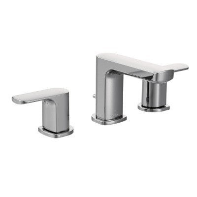 Moen Rizon Chrome Low Arc Bathroom Faucet | T6920
