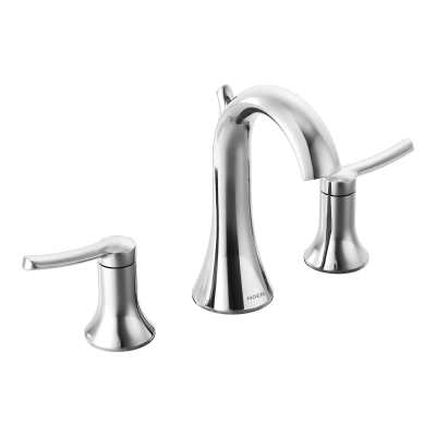 Moen Fina Chrome Two Handle Arc Bathroom Faucet | TS41708