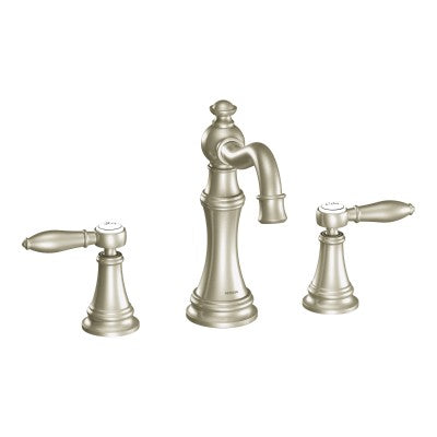 Moen Weymouth Chrome Two Handle Bathroom Faucet | TS42108