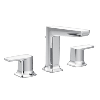 Moen Via Chrome Low Arc Bathroom Faucet | TS8002