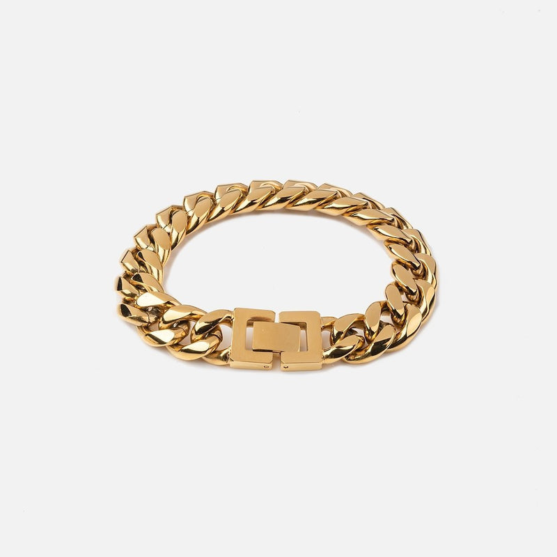 12MM Cuban Bracelet - THE GASPER