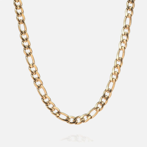7MM Figaro Chain - THE GASPER