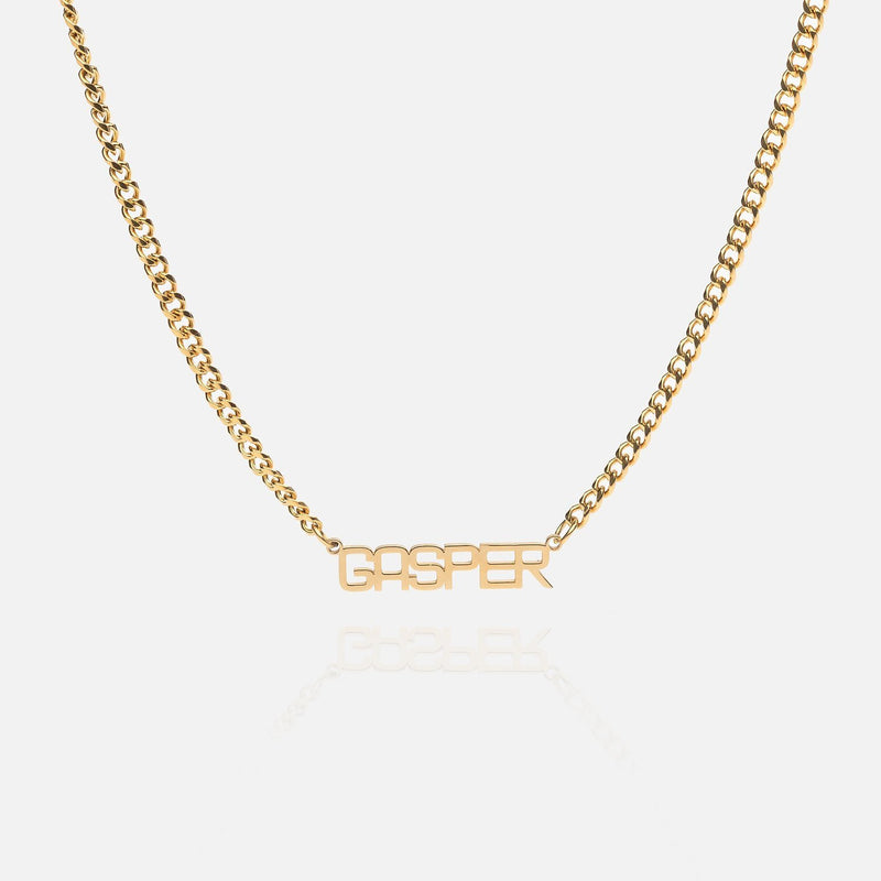 Custom necklace - Modern - THE GASPER