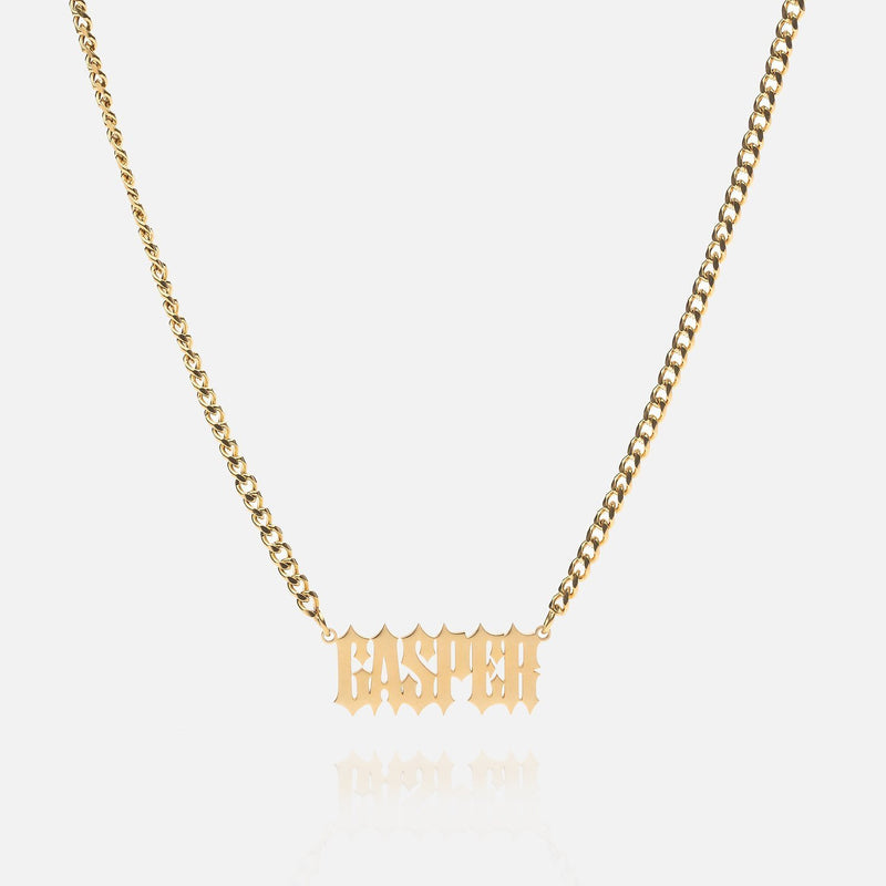 Custom necklace - Wanted - THE GASPER
