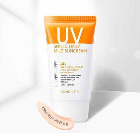 [SOME BY MI] - UV Shield Daily Mild Suncream SPF50+ PA+++ - 50ml