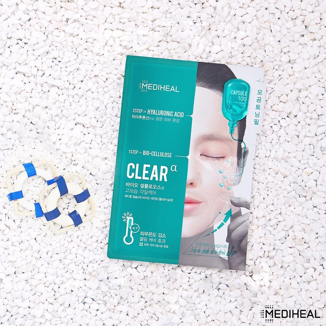 [Mediheal] Capsule 100 Bio Seconderm Mask Clear (1unid.)