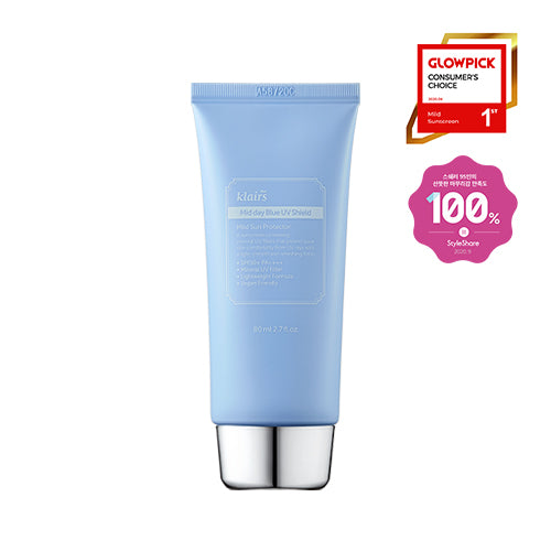 [KLAIRS] Mid Day Blue UV Shield SPF50+ PA++++ 80ml