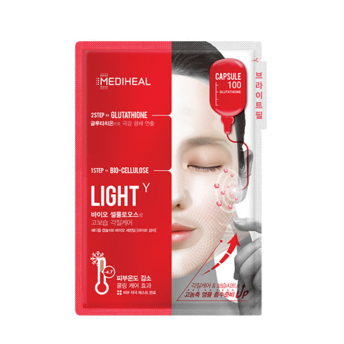[Mediheal] CAPSULE 100 BIO SECONDERM MASK LIGHT 1uni.