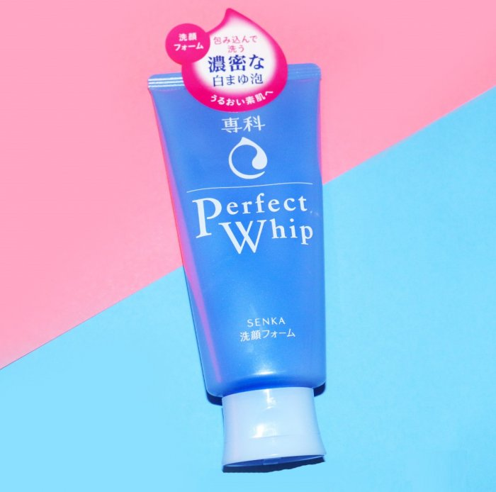 SHISEIDO SENKA PERFECT WHIP FACE WASH 120G
