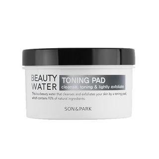 [SON & PARK] Beauty Water Toning Pad - 50un